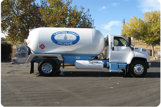 Central Coast Propane will deliver